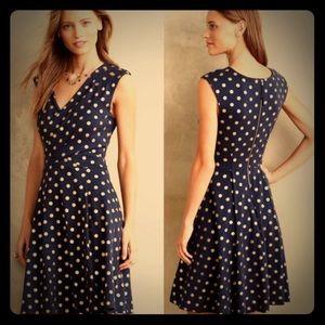 Maeve/Anthropologie polka dot dress